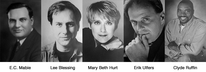 Five Players in Theatre Arts' History