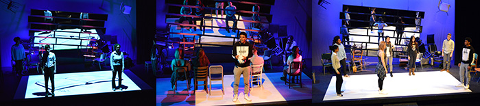 University of Iowa production of BALTIMORE, photos by R. Eric Stone
