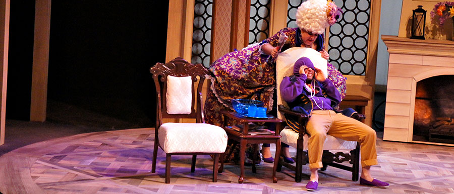 A Scene from SHE STOOPS TO CONQUER