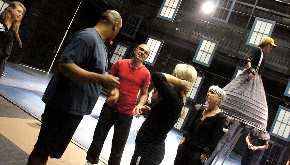 In Rehearsal for CRESCENDO