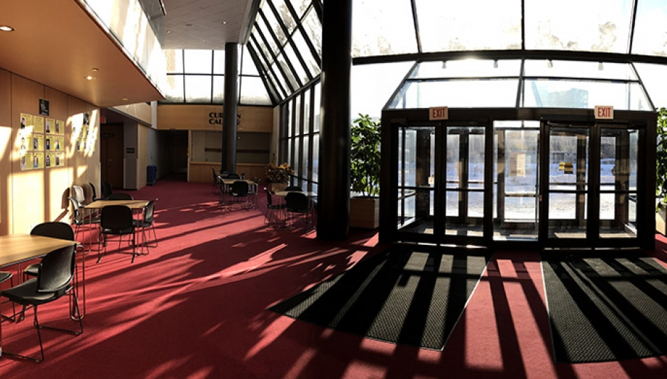 Theatre Arts Building lobby, photo by Katie McClelland