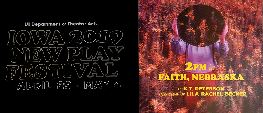 Iowa New Play Festival-2PM in Faith, Nebraska poster image