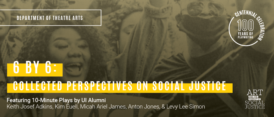 6 by 6: Collected Perspectives on Social Justice. Photo of Black Lives Matter protest.