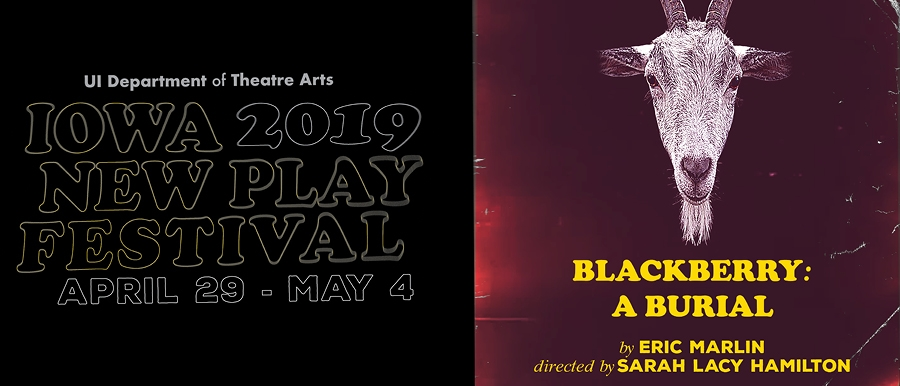 Iowa New Play Festival-Blackberry: A Burial poster image