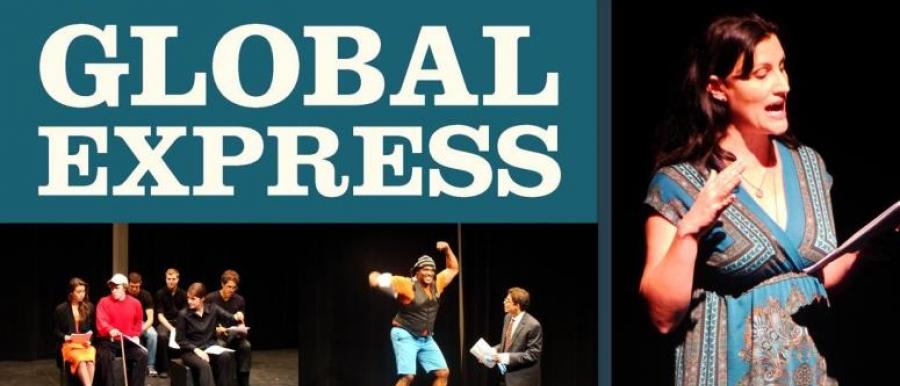 Global Express Poster