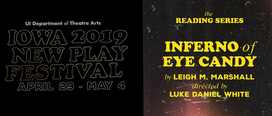 Iowa New Play Festival-Inferno of Eye Candy poster image