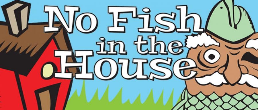 NO FISH poster