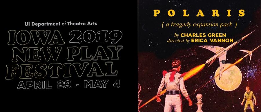 Iowa New Play Festival-P o l a r i s poster image