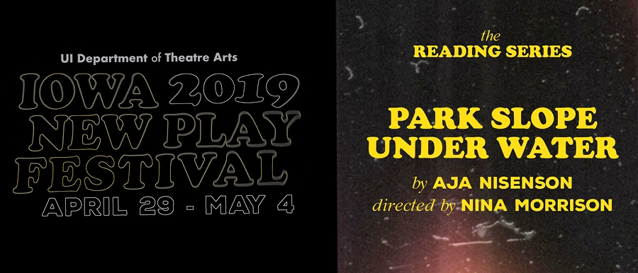 Iowa New Play Festival-Park Slope Under Water poster image