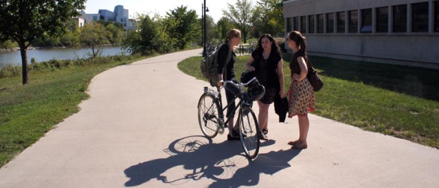 Sidewalk Meeting