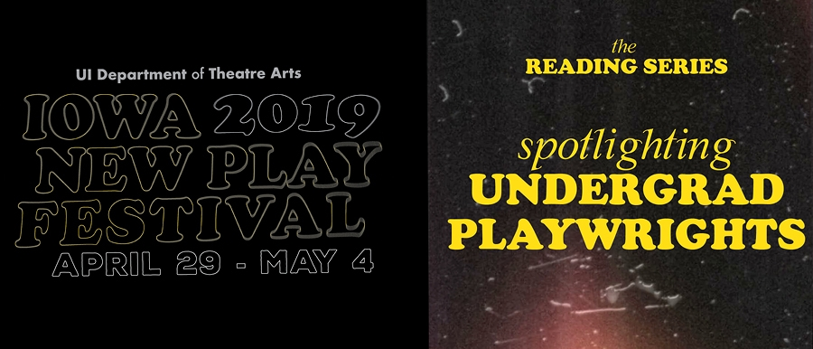Iowa New Play Festival-Spotlighting Undergraduates poster image