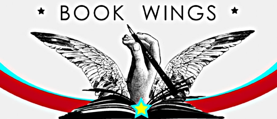 book wings graphic