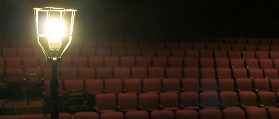 Ghost Light in E.C. Mabie Theatre