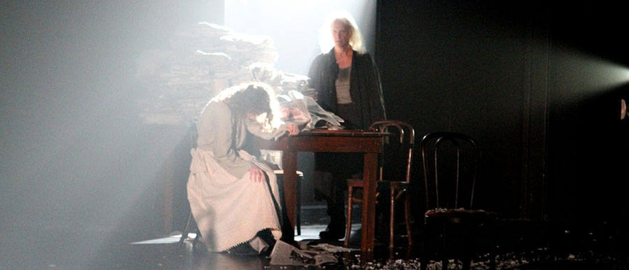 A scene from IN THE NIGHT, Partnership in the Arts 2010