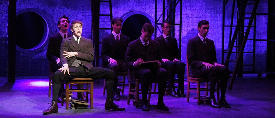 BA Actor Ben Rauch & Cast in SPRING AWAKENING