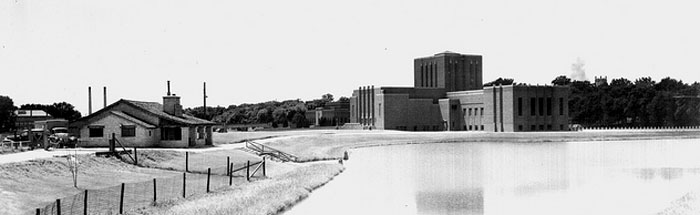 The Theatre Building and Lagoon Boat House, 1940